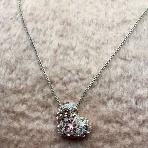 Beautiful necklace with heart shaped pendant
